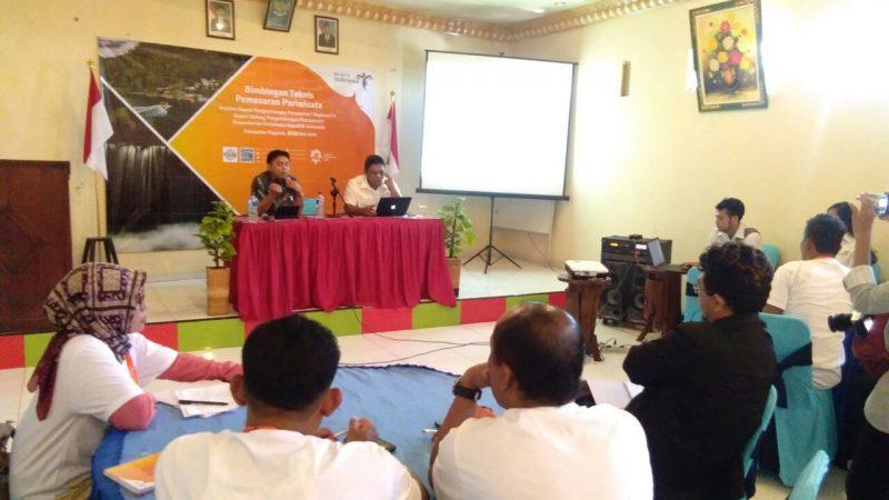 Bimtek Pariwisata Staf Ahli Anggota Komisi X DPR RI dan Penggiat Wisata di Kabupaten Magetan.
