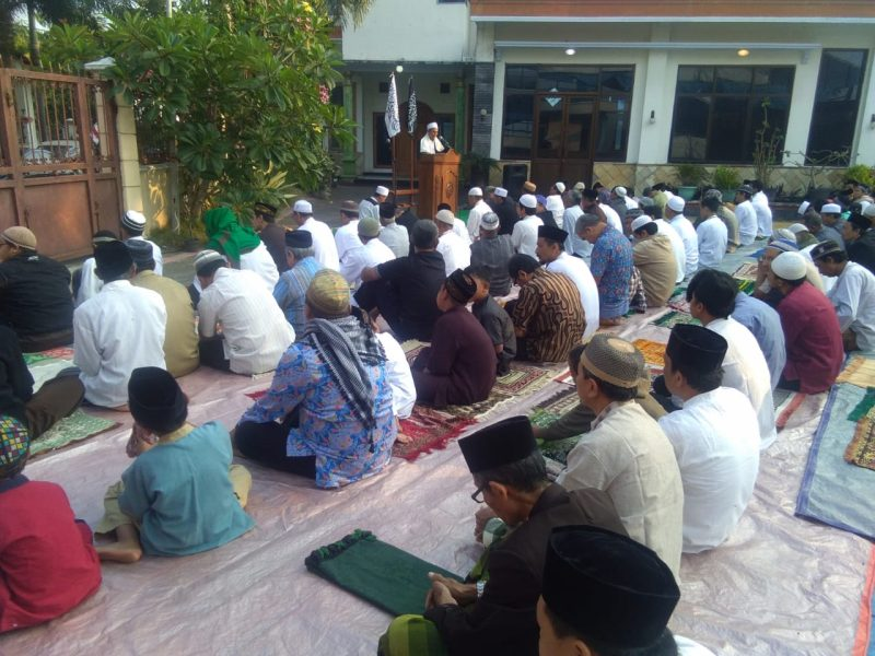 Sholat Idul Adha Majelis Islam Kaffah Magetan.(Anton/LM)