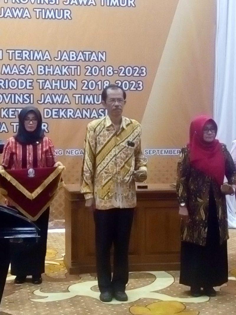 Gladi Bersih Pelantikan Bupati dan Wakil Bupati Magetan Di Gedung Grahadi Pemprov Jatim.