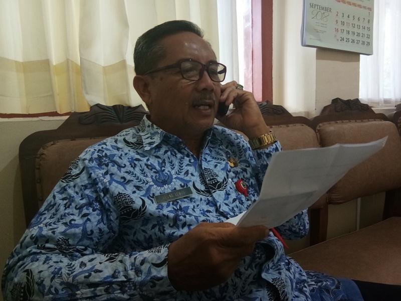 Agung Lewis, Plt Kepala DLH Kabupaten Magetan.