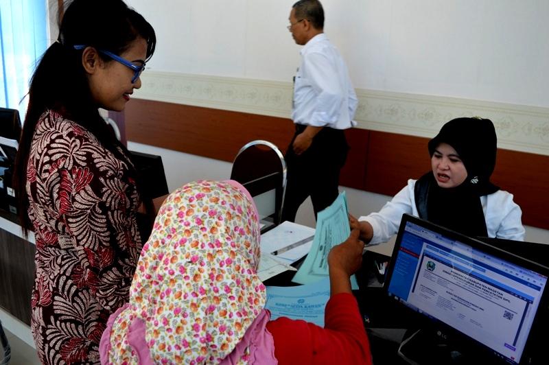 Layanan Adminduk Dinas Dukcapil Kabupaten Magetan. (Norik/Magetan Today)