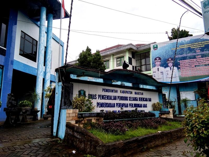 Kantor Dinas PPKBPP dan PA Kabupaten Magetan, ( Norik/Magetan Today).
