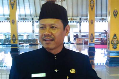 Suwata,Kepala Dinas Dikpora Kabupaten Magetan. ( Norik/Magetan Today)