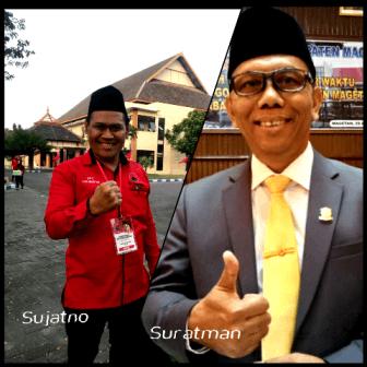 Suratman dan Sujatno, Legislator DPRD Kabupaten Magetan. ( Norik/Magetan Today).