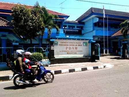 Kantor PDAM Lawu Tirta Magetan ( Norik/Magetan Today)
