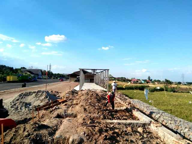 Proyek Relokasi Los Pasar Sayur Magetan. ( Norik/Magetan Today)