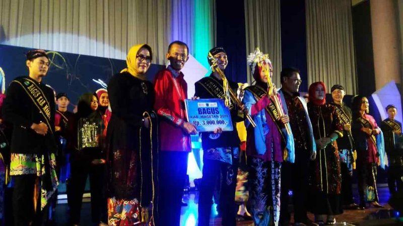 Bupati Suprawoto Bersama Ketua DPRD Magetan, Sujatno Bersama Bagus Dyah Terpilih. (Norik/Magetan Today)