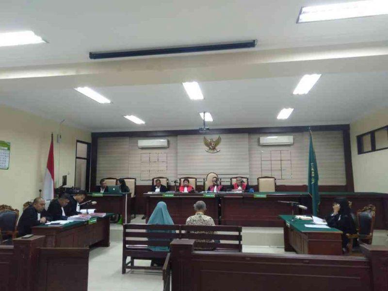 Sidang Tuntutan Kasus Korupsi DLH Kabupaten Magetan. (Istimewa).
