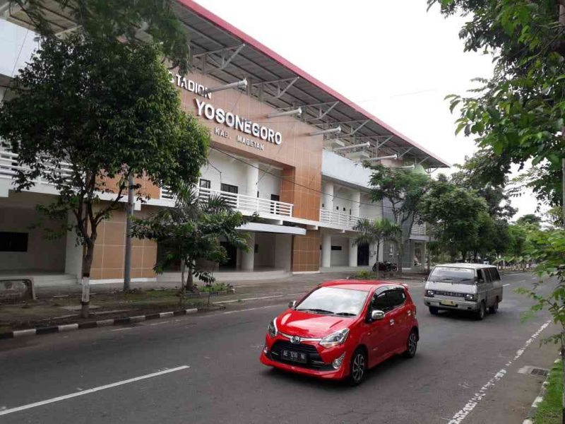 Stadion Yosonegoro Kabupaten Magetan. ( Norik/Magetan Today)