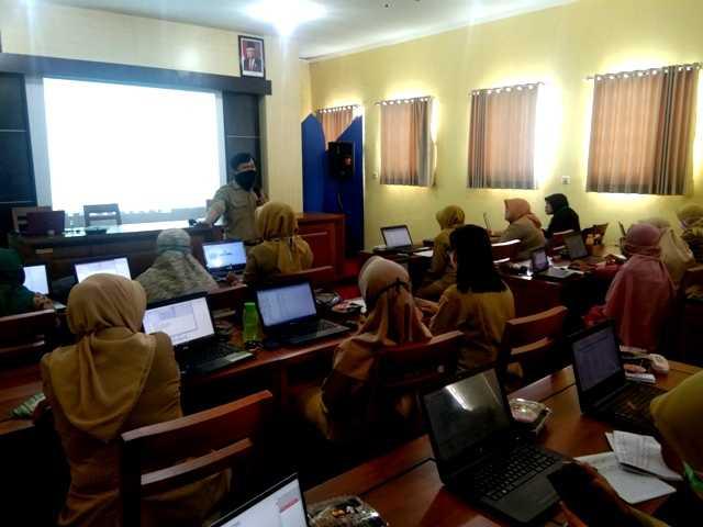 Peserta Pembinaan Dinas Arpus Kabupaten Magetan. ( Norik/Magetan Today)