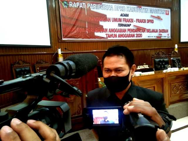Sujatno, Ketua DPRD Kabupaten Magetan. ( Norik/Magetan Today)