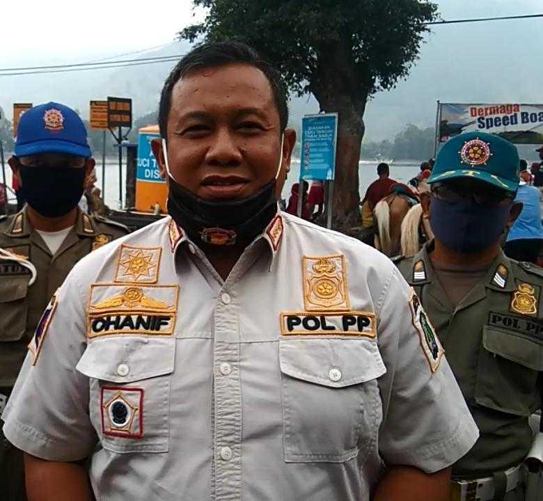 Chanif Triwahyudi, Kasatpol PP dan PMK Kabupaten Magetan. ( Norik/Magetan Today)