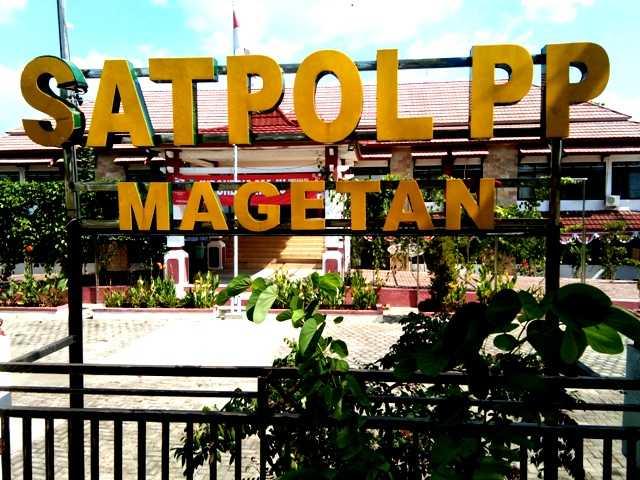 Kantor Satpol PP Kabupaten Magetan. (Norik/Magetan Today)