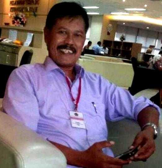Almarhum Gianto, Direktur Administrasi dan Keuangan PDAM Lawu Tirta Magetan. (Istimewa)