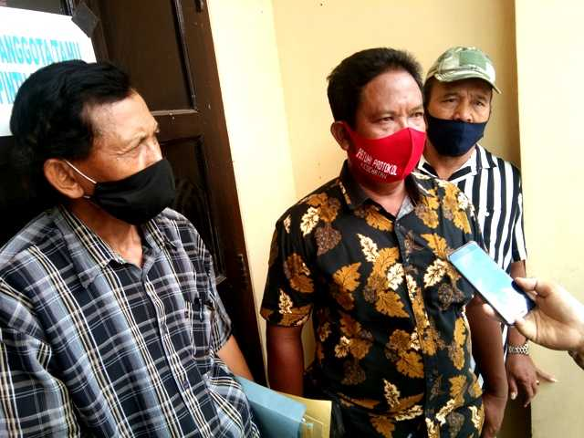 Mulyono, Pengawas Gapoktan Desa Gebyog, Kecamatan Karangrejo. ( Norik/Magetan Today)