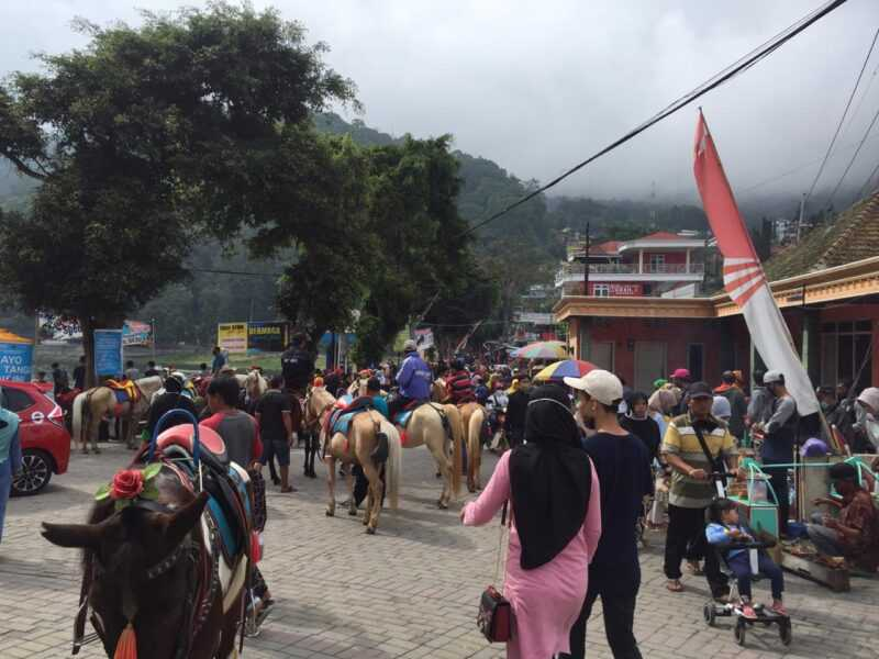 Obyek Wisata Telaga Sarangan Kecamatan Plaosan Kabupaaten Magetan. ( Istimewa)