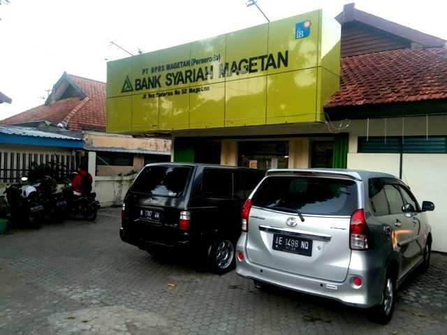 Kantor BPR Syariah Magetan. (Norik/Magetan Today)