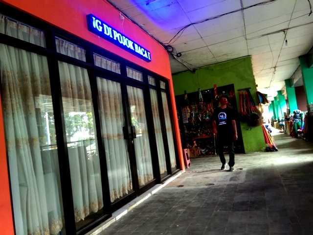 POCADI Kabupaten Magetan Diarea Pasar Baru Magetan. ( Norik/Magetan Today).