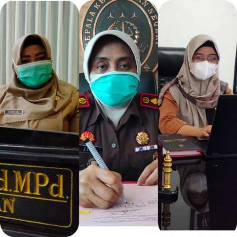 Wakil Bupati Magetan, Kajari Magetan dan Ketua PN Magetan. ( Norik/MagetanToday)
