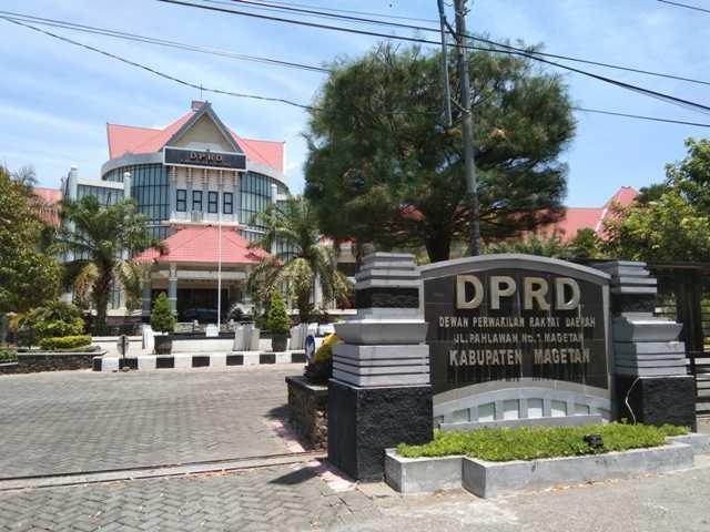 Gedung DPRD Magetan. ( Norik/MagetanToday)